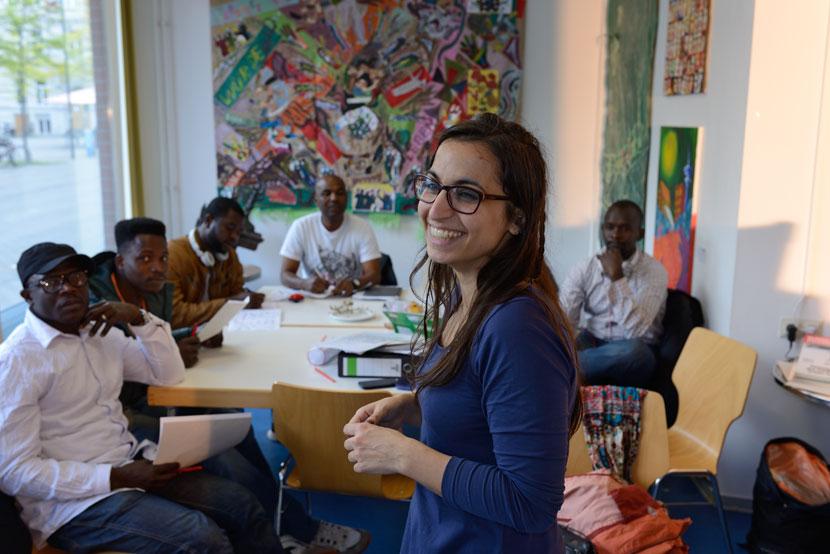 Deutsch lernen im Vor-Ort-Büro