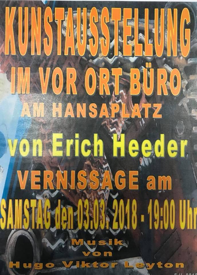 Erich Heeder Ausstellung im VOB